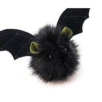 Fang the Green Eared Black Bat Stuffed Animal Plush Toy