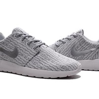 """Nike Roshe One x Yeezy 350 Boost"" Men Sport Casual Flywire Sneakers Running Shoes"