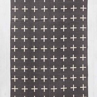 Assembly Home Plus Sign Printed Rug