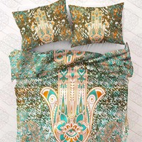 Hamsa Hand Bed Comforter Set (Queen Size)