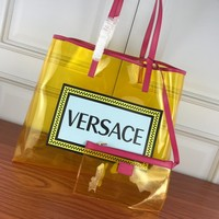 Top Quality Versace DBFG483 Women Leather Tote Bag Shoulder Bag Messenger Bag Shopping Bag