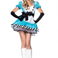 2PC. CHARMING ALICE COSTUME @ Amiclubwear costume Online Store,sexy costume,women's costume,christmas costumes,adult christmas costumes,santa claus costumes,fancy dress costumes,halloween costumes,halloween costume ideas,pirate costume,dance costume,cost