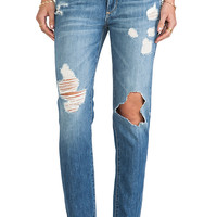 Paige Denim Jimmy Jimmy Skinny in Clifton Destructed
