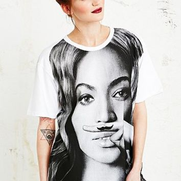 Eleven Paris Life is a Joke Beyonce Tee in White - Urban Outfitters