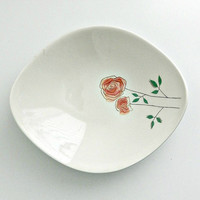 Vintage Ben Seibel Iroquois China 'Rosemary' Mid Mod Serving Bowl (E1681), Mid Century Modern Abstract Serving Bowl