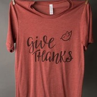 "Gina ""Give Thanks"" Tee"
