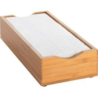 9.5W x 4.75D x 2H Bamboo Napkin Holder