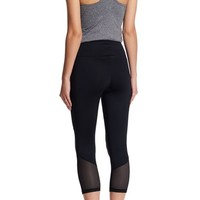 Z By Zella | High Waisted Blocked Crop Legging | Nordstrom Rack