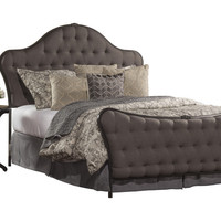 1351 Jefferson Bed Set - Queen - Bed Frame Included - Old Black Finish - Free Shipping!