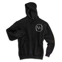 Niall Horan - NH Circle Logo Outline in Corner  Unisex Adult Hoodie Sweatshirt