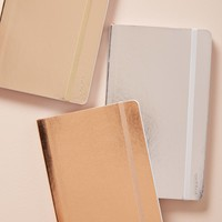 Poppin Metallic Soft Cover Notebook