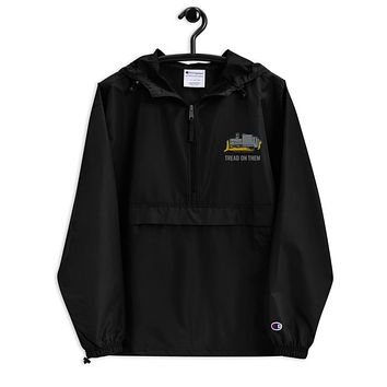 Killdozer Tread On Them Embroidered Champion Packable Jacket