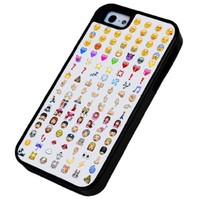 iphone 5 5S Cool Smiley Faces emoji Funky Design Miliotary Army Defender Builder Heavy Duty Case/Cover Shock Proof Cover