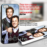 Step Brothers - Design on Hard Case for iPhone 5 Black Case Cover - Please Leave note for the case color: White Case or Clear Case