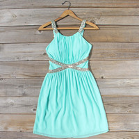 Lucky Star Party Dress in Mint