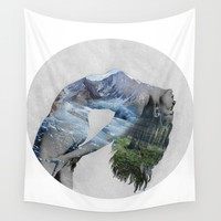 Untitled Wall Tapestry by Lexi Colt