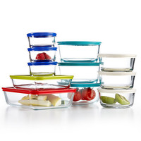 Pyrex 22 Piece Food Storage Container Set, Created for Macy's | macys.com