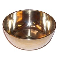 Brass Sing Bowl - Large - Approx 17cm
