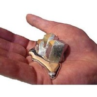Gallium 99.99% Pure 20 Grams 4n Even Melt in Your Hand Low Melting Point Metal