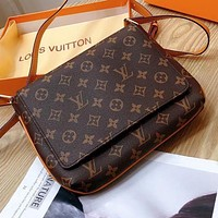 Louis Vuitton LV Women's Printed Letters Shopping Cross-body Bag
