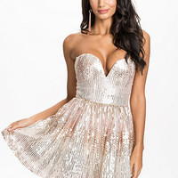 LIMITED EDITION SEQUIN SWEETHEART PROM DRESS