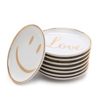C. Wonder Peace & Love Mini Appetizer Plate Set
