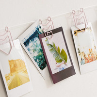 Matte Pennant Photo Clips String Set | Urban Outfitters