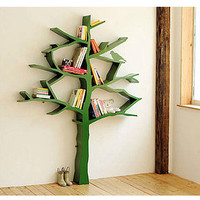 Knowledge Tree Bookcase in White