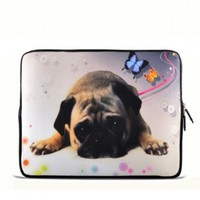 """Puggy Dog 7"""" 7.2"""" 7.7"""" 7.9"""" 8"""" inch Touch Screen Tablet Case Sleeve Pouch Bag for Apple iPad mini Retina Display/Apple iPad Mini 2/ASUS MeMO Pad/Google Nexus 7/iView TV Pad/SupraPad/Acer Iconia One/LG G Pad/Ematic Touchscreen Tablet/HP Stream 7 /SAMSUNG Ga"""