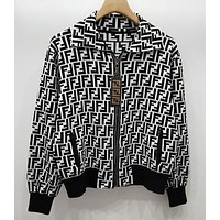Fendi Women Zip Up Jacket-1