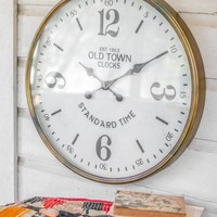 Old Town Station Clock