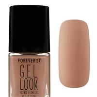 Taupe Gel Look Nail Polish