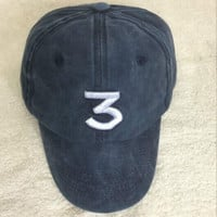 Navy Blue Chance The Rapper 3 Hat