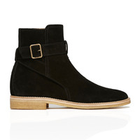 Strapped Boot - Onyx Black