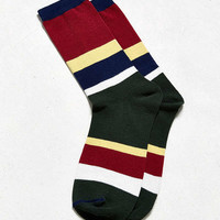 Rugby Stripe Sock | Urban Outfitters