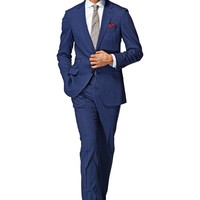 Suit Blue Stripe Sienna P3810i | Suitsupply Online Store