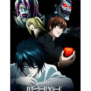 Death Note Faces Poster