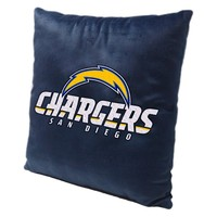 San Diego Chargers NFL Toss Pillow (15x15)