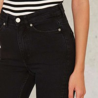 Cheap Monday Mid Snap Skinny Jeans