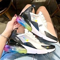AIR MAX 270 NIKE new air cushion transparent mesh sneakers #1