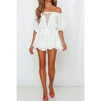 HEAD IN THE CLOUDS ROMPER