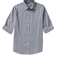 Murano Big and Tall Rolled-Sleeve Sportshirt