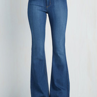 Boho Flare Fray I Have This Dance? Jeans