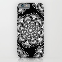 Dizzy mandala - inverted iPhone & iPod Case by Hedehede