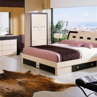 Concorde Modern Bed with Storage