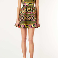 Aztec Jaquard Flippy Dress - Dresses & Rompers - New In This Week - New In - Topshop USA