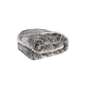 Gray Fur Throw | Eichholtz Alaska