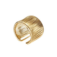 Coil Ring In Gold