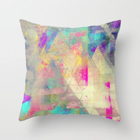 Summer Nights  Throw Pillow by Pixel Pop | Society6