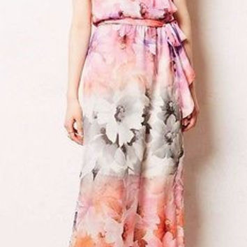 Anthropologie $168 Easel Flora Maxi Dress Sz 0 and 6 - By HD in Paris - NWT